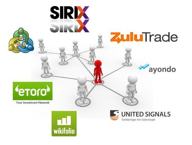 Fx trading social network