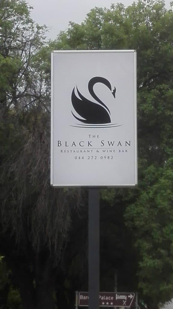 Schwarzer Schwan voraus…