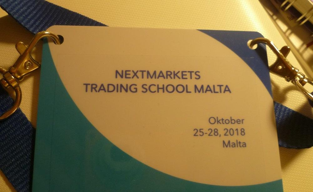 Nextmarkets Trading School Malta - Teilnehmer